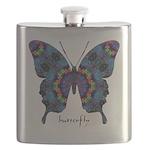 Festival Butterfly Flask