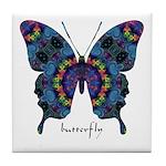 Festival Butterfly Tile Coaster