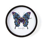 Festival Butterfly Wall Clock