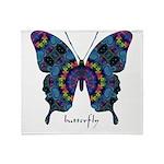 Festival Butterfly Throw Blanket