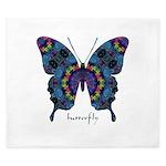 Festival Butterfly King Duvet
