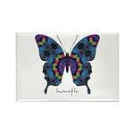 Festival Butterfly Rectangle Magnet (100 pack)