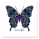 Festival Butterfly Square Car Magnet 3