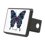 Festival Butterfly Rectangular Hitch Cover