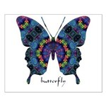 Festival Butterfly Small Poster