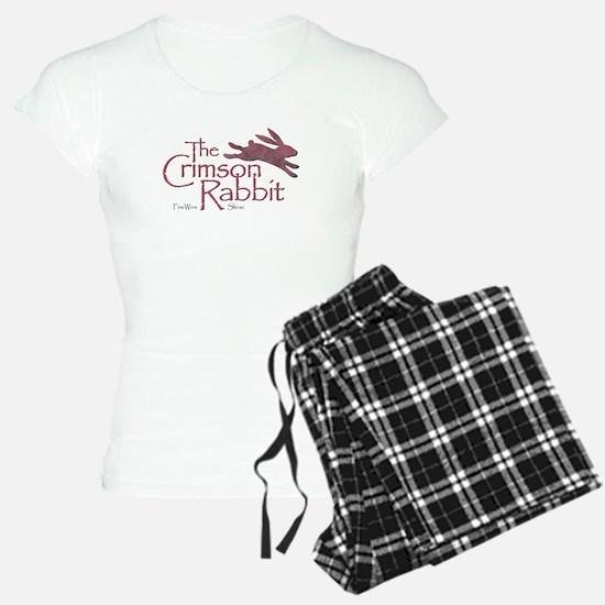 Crimson Rabbit Shiraz Pajamas