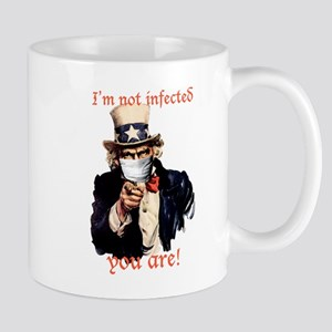 I'm not infected, you are! Mug