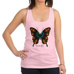 Power Butterfly Racerback Tank Top