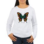 Power Butterfly Women's Long Sleeve T-Shirt