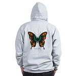 Power Butterfly B Zip Hoodie