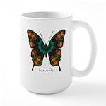 Power Butterfly Large Mug