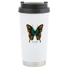 Power Butterfly Stainless Steel Travel Mug