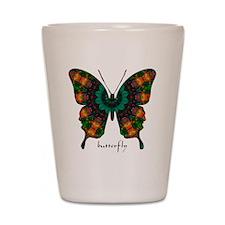 Power Butterfly Shot Glass