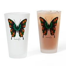Power Butterfly Drinking Glass