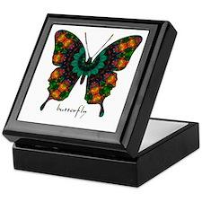 Power Butterfly Keepsake Box