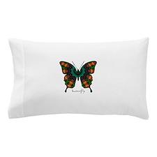 Power Butterfly Pillow Case