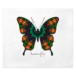 Power Butterfly King Duvet
