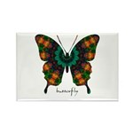 Power Butterfly Rectangle Magnet (100 pack)