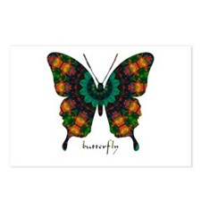 Power Butterfly Postcards (Package of 8)