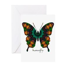 Power Butterfly Greeting Card