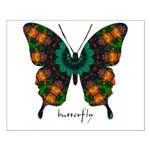 Power Butterfly Small Poster