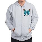 Redemption Butterfly Zip Hoodie