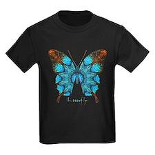 Redemption Butterfly Kids Dark T-Shirt
