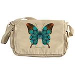Redemption Butterfly Messenger Bag