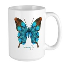 Redemption Butterfly Large Mug