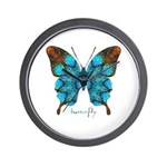 Redemption Butterfly Wall Clock