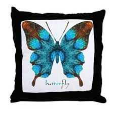 Redemption Butterfly Throw Pillow