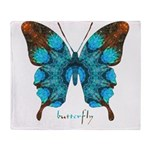 Redemption Butterfly Throw Blanket