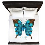 Redemption Butterfly King Duvet