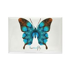 Redemption Butterfly Rectangle Magnet