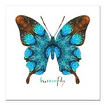 Redemption Butterfly Square Car Magnet 3