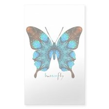 Redemption Butterfly Sticker (Rectangle)