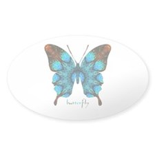Redemption Butterfly Sticker (Oval)