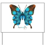 Redemption Butterfly Yard Sign