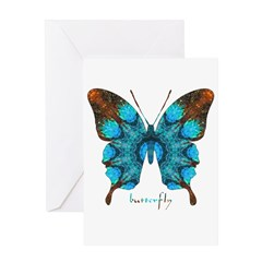 Redemption Butterfly Greeting Card