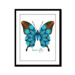 Redemption Butterfly Framed Panel Print