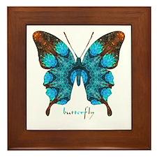 Redemption Butterfly Framed Tile