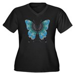 Transformation Butterfly Women's Plus Size V-Neck