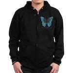 Transformation Butterfly Zip Hoodie (dark)