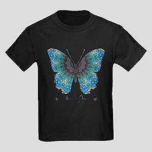 Transformation Butterfly Kids Dark T-Shirt