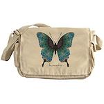 Transformation Butterfly Messenger Bag