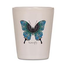 Transformation Butterfly Shot Glass