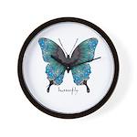 Transformation Butterfly Wall Clock