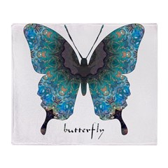 Transformation Butterfly Throw Blanket