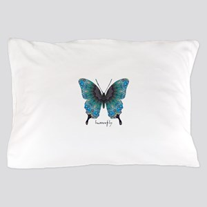 Transformation Butterfly Pillow Case
