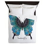 Transformation Butterfly Queen Duvet